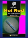 Hot Rod with Book - Anodized aluminum