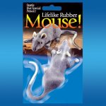 Lifelike Rubber Mouse