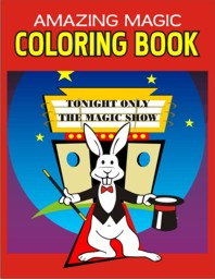 Magic Coloring Book - $14.99 : Las Vegas Magic Shop, Online Magic Shop