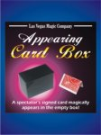 Appearing Card Box